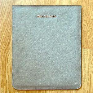 Michael Korda iPad sleeve